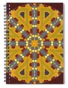 Meditating On Life - Mandala Spiral Notebook