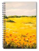 Mediterranean Landscape  Spiral Notebook