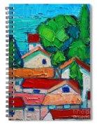 Mediterranean Roofs 2 Spiral Notebook