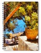 Mediterranean Steps Spiral Notebook
