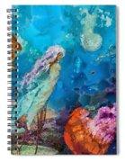 Medusa's Garden Spiral Notebook
