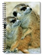 Meerkats Spiral Notebook
