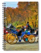 Meeting Of The Carriages Spiral Notebook