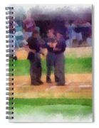 Meeting Of The Umpires Photo Art Spiral Notebook
