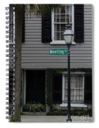 Meeting St Spiral Notebook