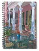 Meeting Street Inn Charleston Spiral Notebook