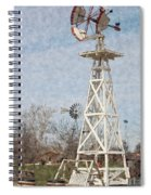 Megan's Windmill Spiral Notebook