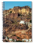 Mehrangarh Fort Spiral Notebook