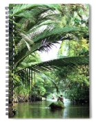 Mekong Delta Backwater 01 Spiral Notebook