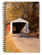 Melcher Covered Bridge Parke Co In Usa Spiral Notebook