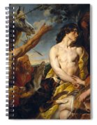 Meleager And Atalante Spiral Notebook