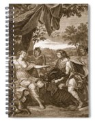 Meleager Presents The Boars Head Spiral Notebook