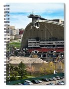 Mellon Arena Partially Deconstructed Spiral Notebook