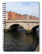 Mellows Bridge In Dublin Spiral Notebook
