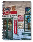 Mel's Filling Station Spiral Notebook