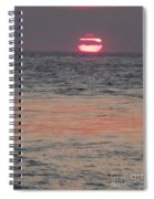 Melting Sun Into The Cool Sea Spiral Notebook