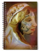 Melusine Of Avalon Spiral Notebook