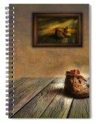 Mementos Exhibition Spiral Notebook
