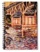 Memorial Bridge Spiral Notebook