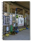 Memorial  Spiral Notebook