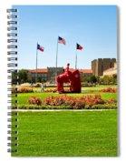 Memorial Circle Spiral Notebook