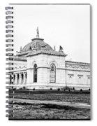 Memorial Hall Centennial International Exposition 1877 Spiral Notebook