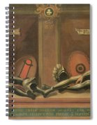Memorial To John And Thomas Spiral Notebook