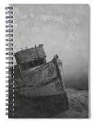 Memories Left At Sea Spiral Notebook