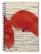 Memories Of A Summer Horizontal Spiral Notebook