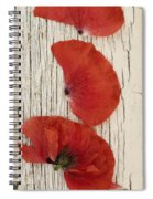 Memories Of A Summer Vertical Spiral Notebook