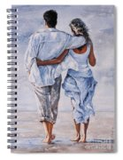 Memories Of Love Spiral Notebook
