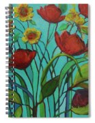 Memories Of The Meadow Spiral Notebook