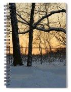 Memories Of Winter Spiral Notebook