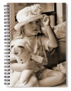 Memories Out Of Time Spiral Notebook