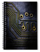 Memory Chip Number Two Spiral Notebook