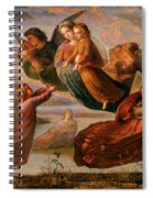 Memory Of Heaven Spiral Notebook
