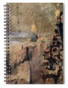 Memory Of Spain Spiral Notebook