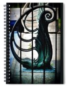 Memory Of Yesterday Swims Spiral Notebook