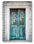 Memphis Elmwood Cemetery - Humes Crypt Spiral Notebook