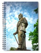 Memphis Elmwood Cemetery - Man With Cane Spiral Notebook