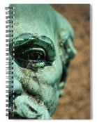 Memphis Elmwood Cemetery Monument - The Governor Spiral Notebook