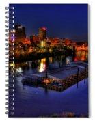 Memphis Tn Just Before Dawn Spiral Notebook