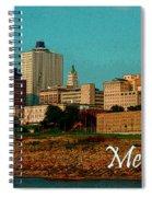 Memphis  Spiral Notebook
