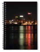 Memphis Tn Skyline At Night Spiral Notebook