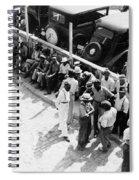 Memphis Unemployed, 1938 Spiral Notebook
