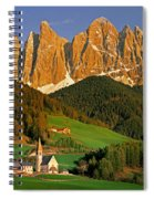 Men Of Stone Spiral Notebook