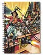 Men Of The Jolly Roger Spiral Notebook