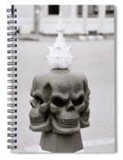 Menace Spiral Notebook