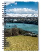 Menai Bridge 1819 Spiral Notebook