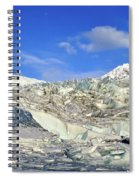 Mendenhall Glacier Spiral Notebook